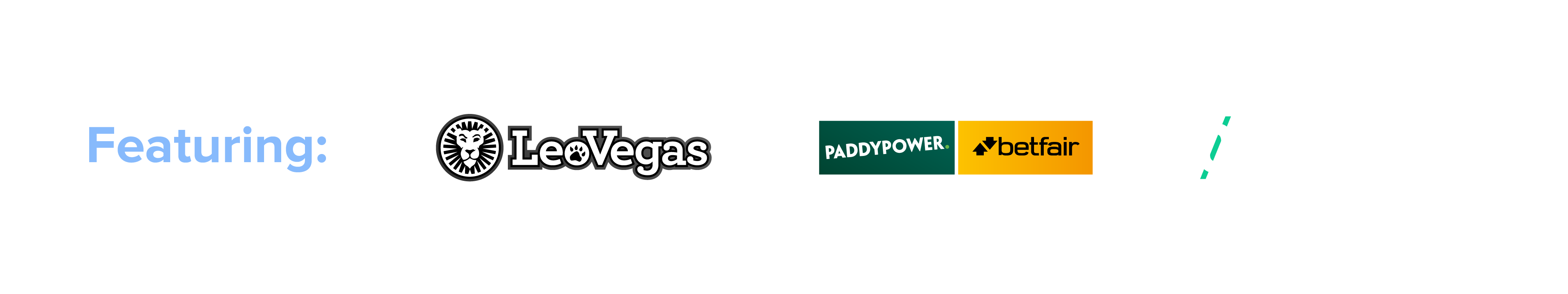Featuring LeoVegas Paddy Power and Smarkets